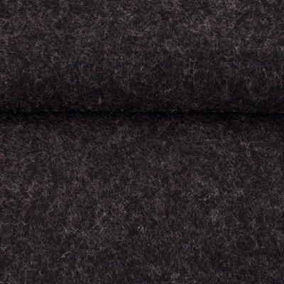 Vilt midden grijs gemeleerd 1,5 mm dik 90 cm breed per meter