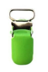 Speen clip fel groen 10 mm smal