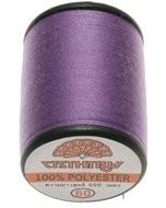 Naaigaren lila 100% polyester 500 meter per klos