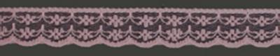 Kant 20 mm breed antiek roze per meter