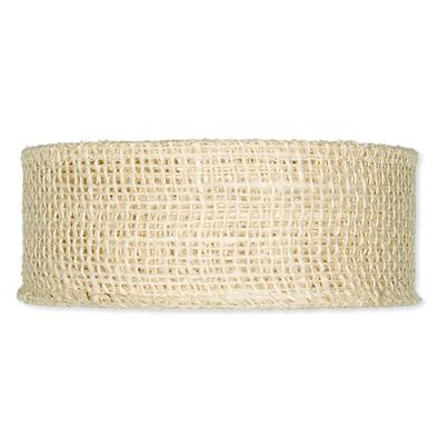 Jute band zand 5 cm breed per meter