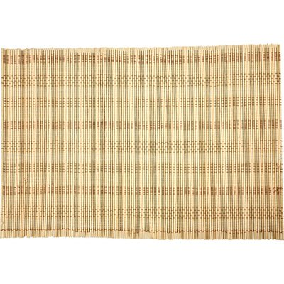 Bamboemat 45 x 50 cm per stuk