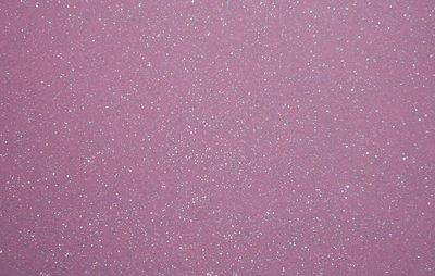 Vilt lapje roze met glitters 20 x 30 cm 1,5 mm dik per lapje