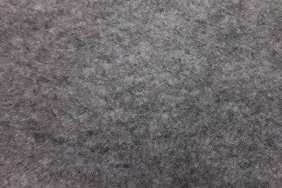 Zelfklevend vilt grijs gemeleerd 20 x 29 cm 1 mm dik per lapje