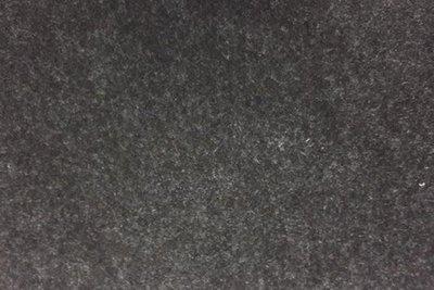 Zelfklevend vilt zwart gemeleerd 20 x 29 cm 1 mm dik per lapje