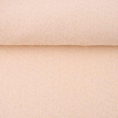Vilt creme 1,5 mm dik 90 cm breed per meter