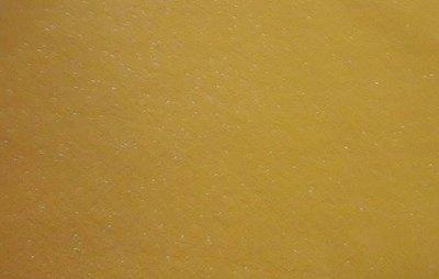 Vilt lapje geel met glitters 20 x 30 cm 1,5 mm dik per lapje