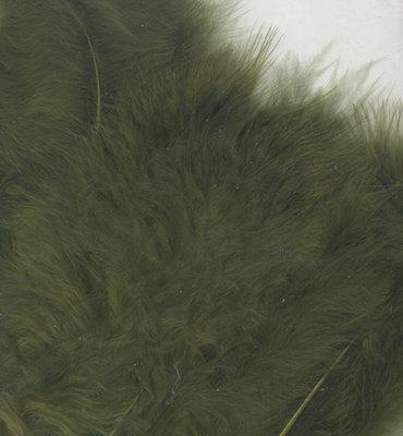 Veren olijf groen per zakje