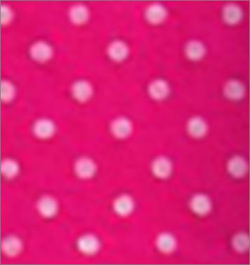 Vilt lapje knal roze met witte stippen 30 x 40 cm per lapje
