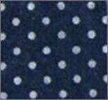 Vilt lapje donkerblauw met witte stippen 30 x 40 cm per lapje