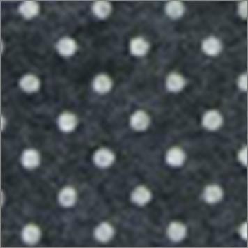 Vilt lapje zwart met witte stippen 30 x 40 cm per lapje
