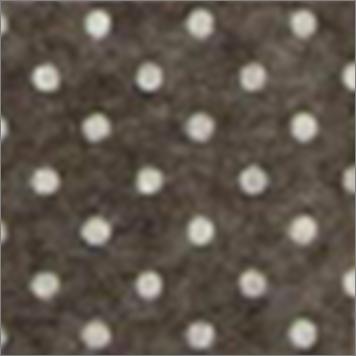 Vilt lapje bruin met witte stippen 30 x 40 cm per lapje