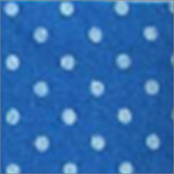 Vilt lapje blauw met witte stippen 30 x 40 cm per lapje