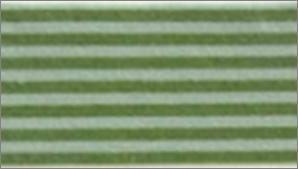 Vilt lapje groen gestreept 30 x 40 cm per lapje