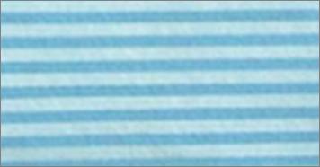 Vilt lapje blauw gestreept 30 x 40 cm per lapje