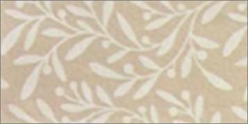 Vilt lapje olijf print bruin 30 x 40 cm per lapje