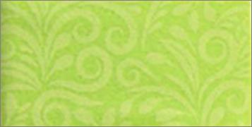 Vilt lapje sierlijk print fel groen 30 x 40 cm per lapje