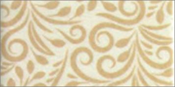 Vilt lapje sierlijk print creme 30 x 40 cm per lapje