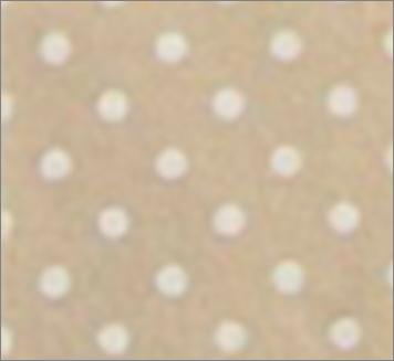 Vilt lapje gemeleerd creme met witte stippen 30 x 40 cm per lapje