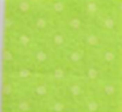 Vilt lapje zacht groen met stippen 30 x 40 cm per lapje
