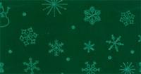 Vilt lapje met kerst print donker groen sneeuwpop ster 30 x 40 cm per lapje