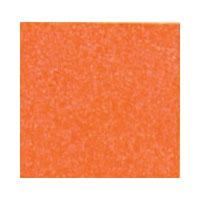 Vilt oranje met fijne glitter zilver 30 x 40 cm per lap