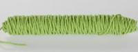 Wolkoord 3 mm doorsnee pastel groen 5 meter per klos