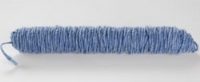 Wolkoord 3 mm doorsnee blauw 5 meter per klos