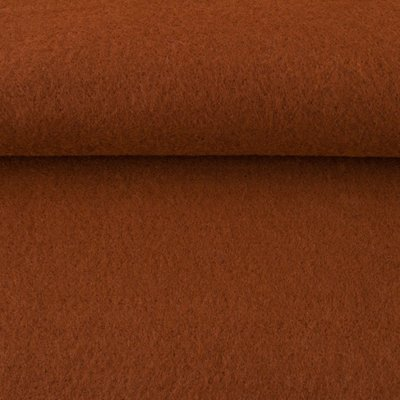 Vilt cognac 1,5 mm dik 90 cm breed per meter