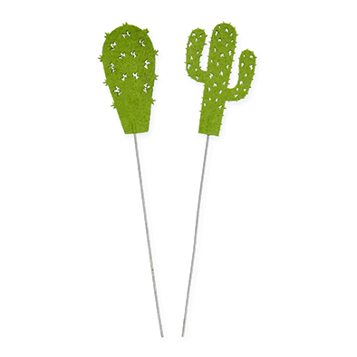 Cactus pins, Groen, 2 stuks per verpakking