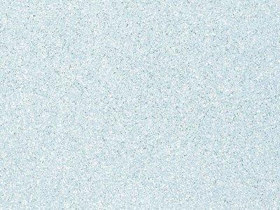 Glitter Vilt Grof, 20 x 30 cm, Licht Blauw, 1mm dikte