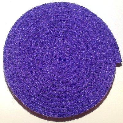 Vilt band op rol 4 cm breed 1,5 meter lang paars