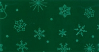 Kerst Vilt, 90 cm breed, Groen/Crème