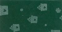Vilt lapje groen met kadootjes print 30 x 40 cm per lapje