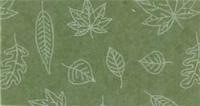 Vilt lapje groen met blaadjes print 30 x 40 cm per lapje