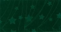 Vilt lapje met kerst print groen ster lijn 30 x 40 cm per lapje