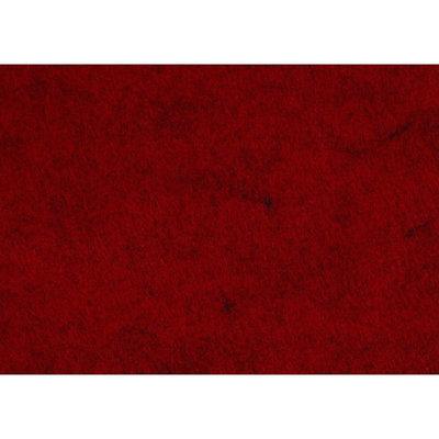 Budgetvilt, Rood Gemêleerd 20 x 30 cm