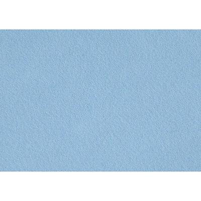 Budgetvilt, Licht Blauw 20 x 30 cm