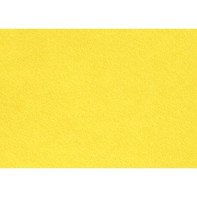 Budgetvilt, Geel 20 x 30 cm