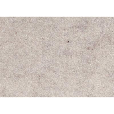 Budgetvilt, Off-White Gemêleerd 20 x 30 cm
