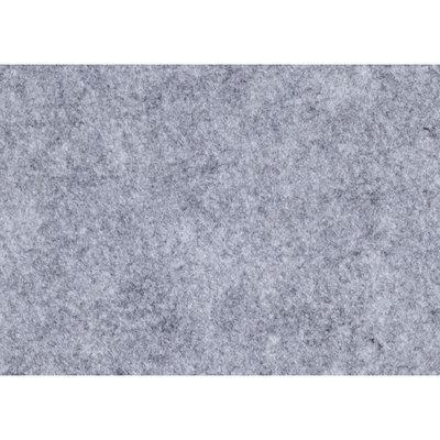 Budgetvilt, Grijs Gemêleerd 20 x 30 cm
