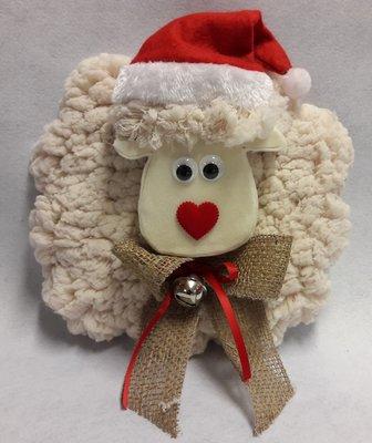 DIY pakket schaap kerst