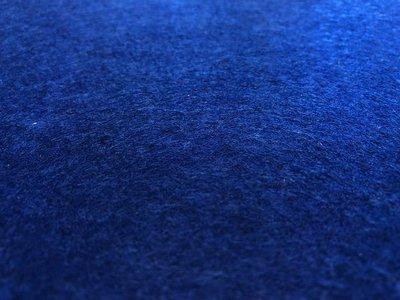 Plakvilt, Donker Blauw, 20 x 29 cm