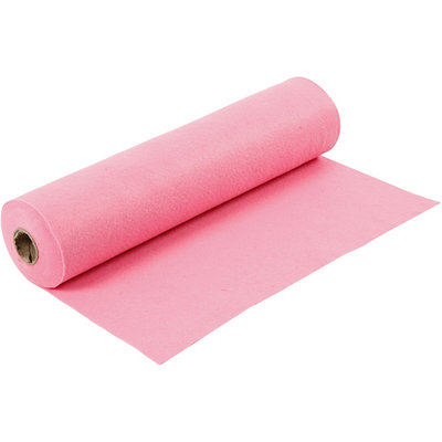 Roze, 45 cm x 5 meter