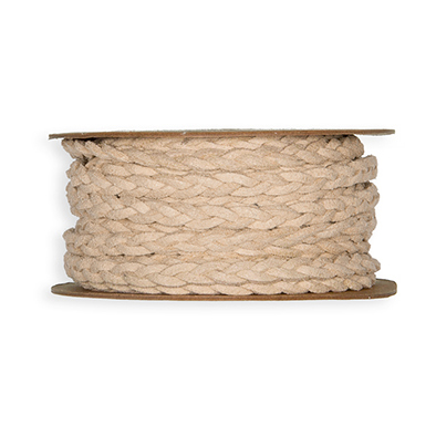 Leather Look Ribbon, Sand