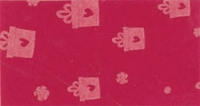 Vilt lapje roze met kadootjes print 30 x 40 cm per lapje