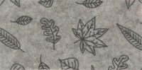 Vilt lapje licht beige met blaadjes print 30 x 40 cm per lapje
