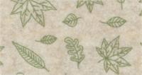 Vilt lapje creme met blaadjes print 30 x 40 cm per lapje