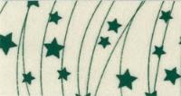 Vilt lapje met kerst print creme ster lijn 30 x 40 cm per lapje