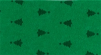 Vilt Kerstboom print, Groen, 30 x 40 cm, 1mm dikte